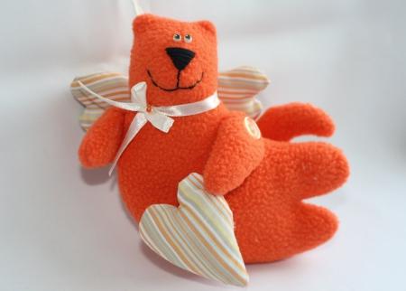 Рыжий кот Амурчик