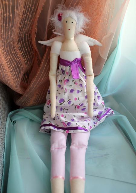 Цветочный ангел Виолета 45 см