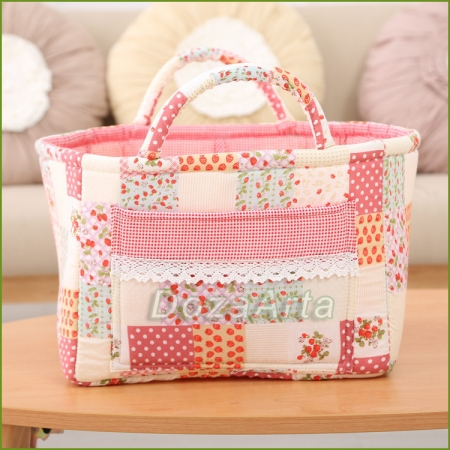 Текстильная корзина для хранения