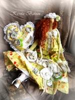 Тильда Фея волшебных цветов Анфиса 50 см