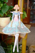 Тильда Ангел роз Стефания 55 см
