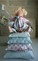 Принцесса на горошине Tutti Frutti с розой 33 см