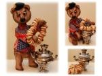 Русский медведь Прохор 30 см