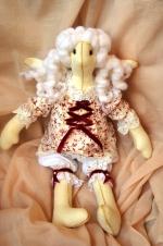 Ангел-сплюшка Белокурая Маргарита 36 см