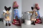 Домашняя феечка Розамунда 35 см с домиком!