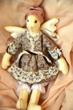 Ангел-сплюшка Ксения 36 см