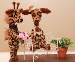 Жирафики друзья 12 см