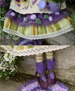 Тильда-фея из Прованса 45 см