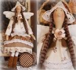 Тильда-ангел Бетти  42 см