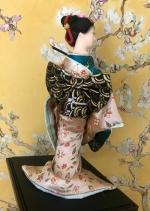 Кукла гейша 23 см