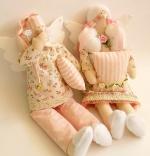 Семья Спящих Ангелов Шебби-Шик