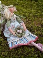 Тильда фея Весны 45 см
