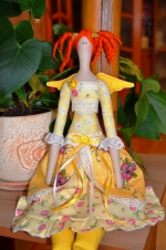 Тильда Медовый ангел Sweet Honey 55 см