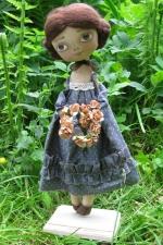 "Кукла ""Чайная роза"" 30см"