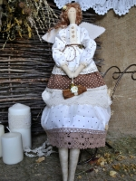 Тильда фея Мария, аромат корицы 48 см