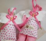 Семья Спящих Ангелов (розовые цветочки)