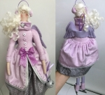 Тильда-ангел фигуристка Рита 38 см